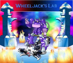 WheeljacksLab.com - T-Shirt Design - Front Design by JP-V
