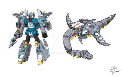 Dinobot - G1 - Paddles - Fan Design - Both Modes by JP-V