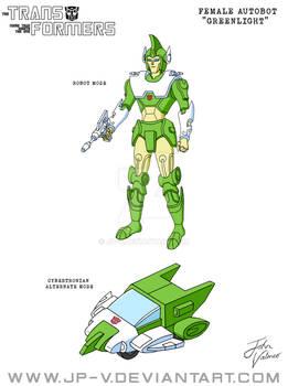 Greenlight - Cartoon Animation Model Sheet
