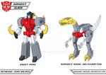 Dinobot - Slash - G1 Cartoon - Fan Art Design by JP-V