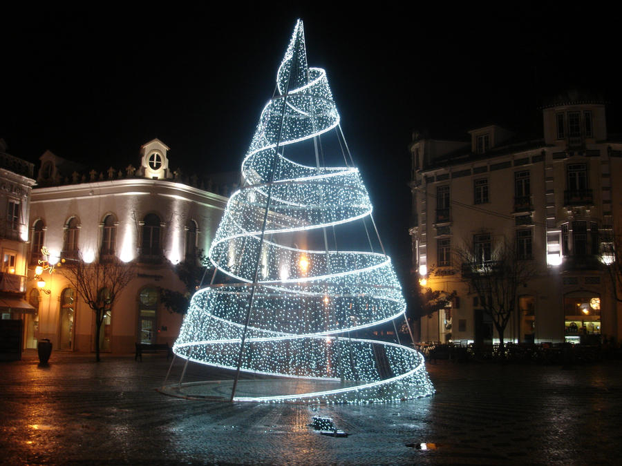 christmas light tree by kmarco100 - Christmas Light Tree