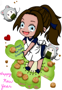 Happy BDay/New Year Kiwi