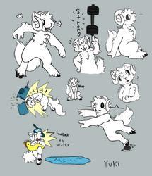 Commission - Yuki by Glowyshroom