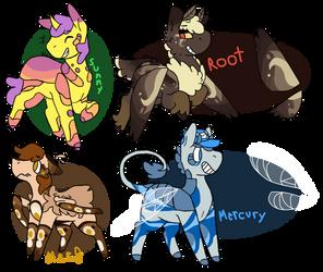 May 2020 Prompt - Species Swap set 1