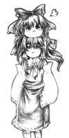 Touhou-Reimu and yukkuri Reimu