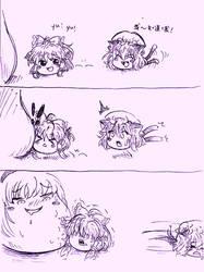 Touhou-yukkuri comic