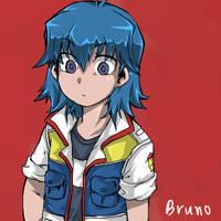 Yu-Gi-Oh 5D's-Bruno.. by kutaraa