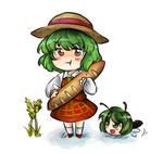 Touhou-yukkuri yuka+wriggle