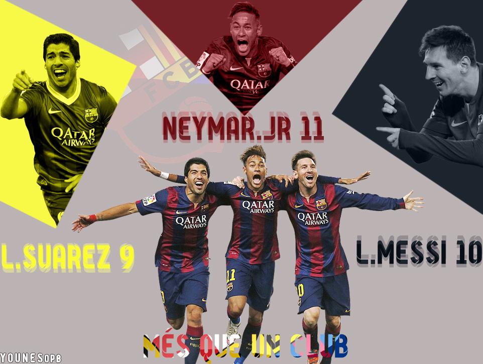 Mesii Suarez Neymar Msn By YounesOPB