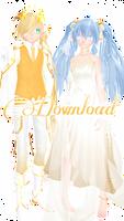 - tda platinum miku and len - download