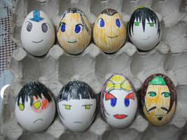 Avatar Eggs by ayuffers