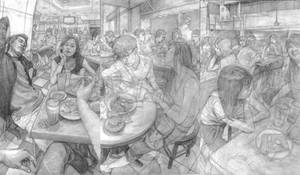 Study of I'm in mamak stall