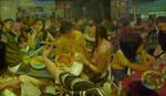 i'm in mamak stall