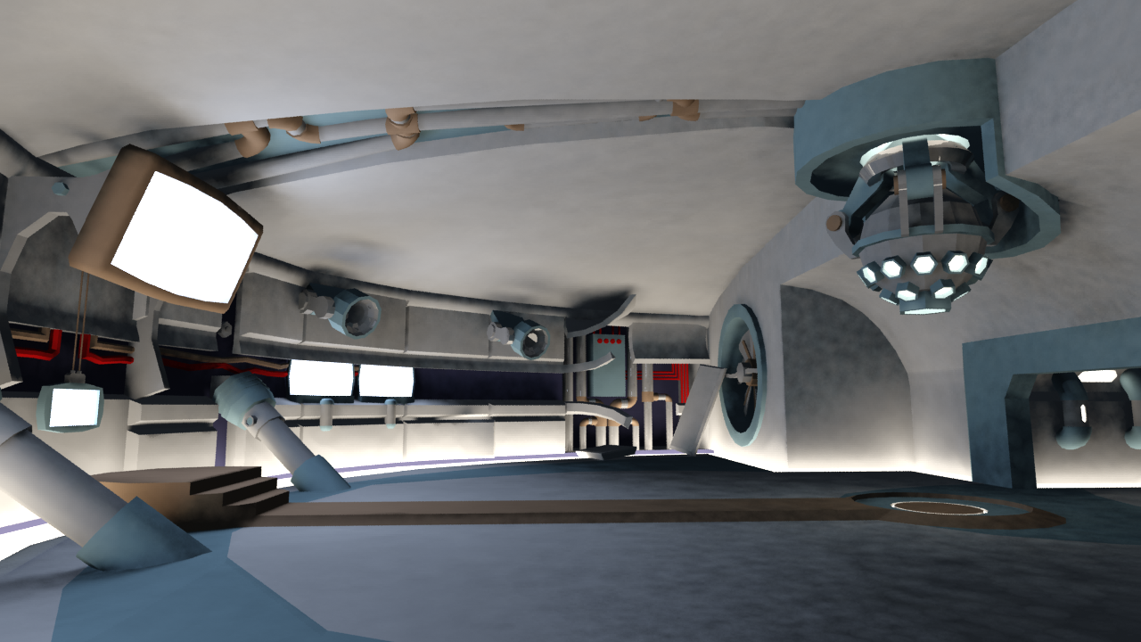 High tech control room by rvdm88 on deviantart for Futuristic control room