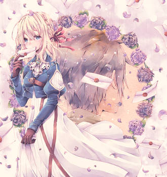 Violet Evergarden by nemurou