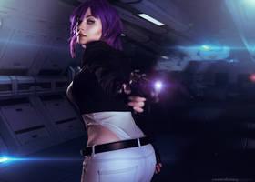 Major Motoko Kusanagi Cosplay 3 by EdraLena