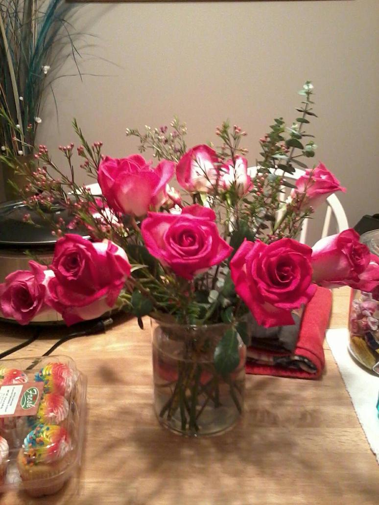 My Birthday Flowers By Machanicartist96 On Deviantart
