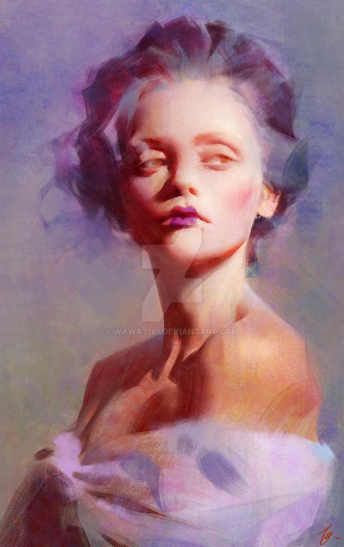 portrait of Christina Ricci by wawa3761