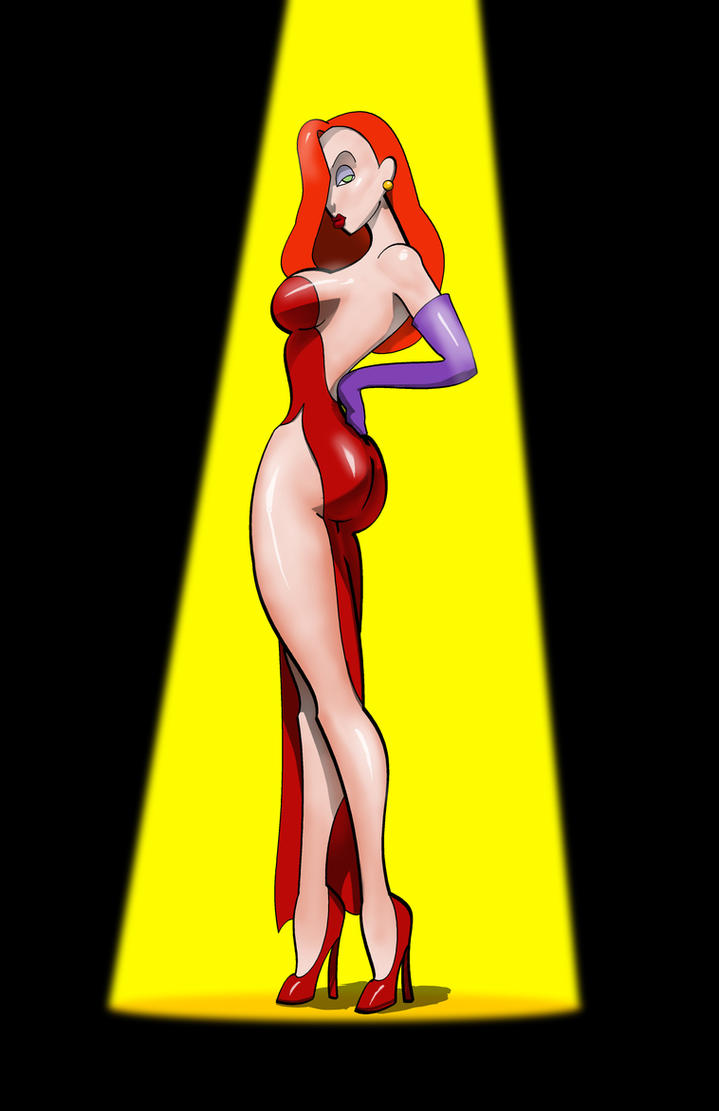 Jessica Rabbit by Caileanmor