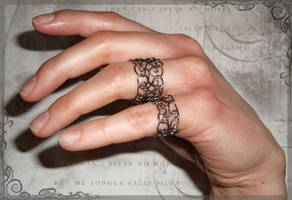 Lacy Organized Chaos Ring by AmeliaLune