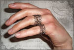 Lacy Organized Chaos Ring