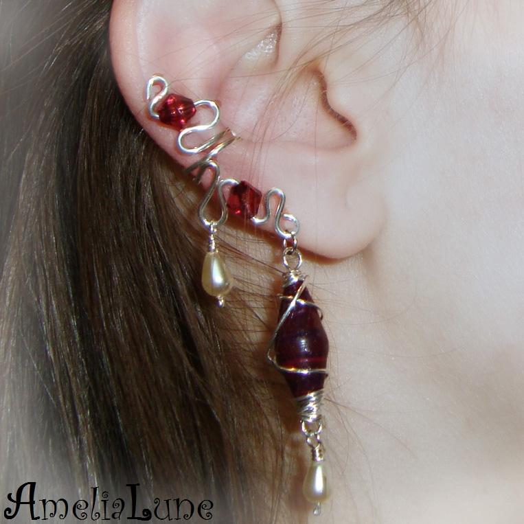 FREE Complete Ear Cuff Tutorial by AmeliaLune