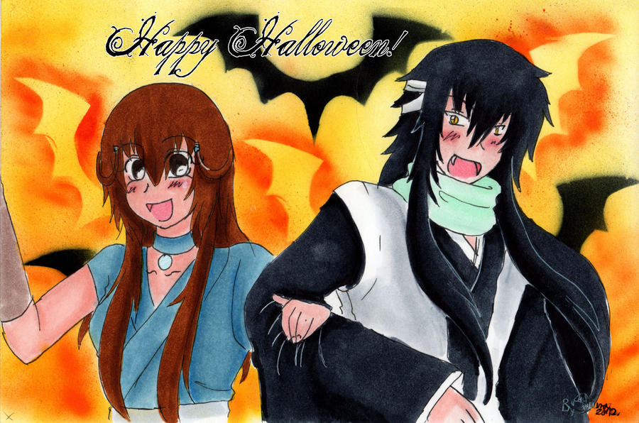Happy Halloween! by Lapis-Elyon