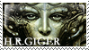 H.R. Giger Stamp. by Kitty1000