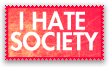 I hate Society Stamp. by Kitty1000