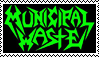 Municipal Waste stamp. by Kitty1000