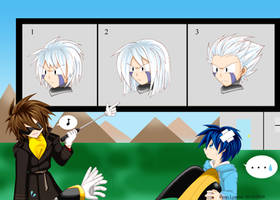 RMN - Blues' Guessing Game by yukito-chan