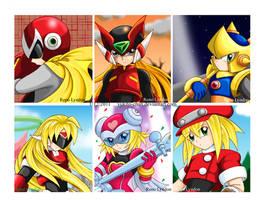 RMMix - Character Portraits by yukito-chan