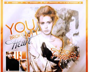 You Broke My Heart by iJoshCarter