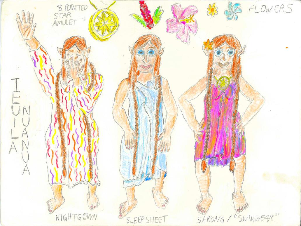 Teuila Wardrobe Guide #1 by Raakone