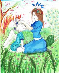Katherine and Ingrid - Spring time by Raakone