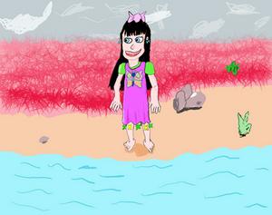 Anna in Swimdress