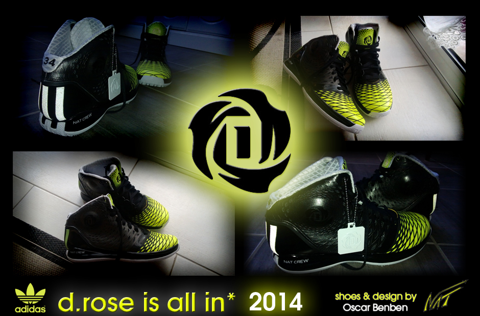 D Rose Shoes In Kid Sizes