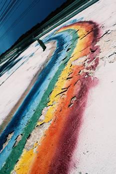 feel the rainbow..