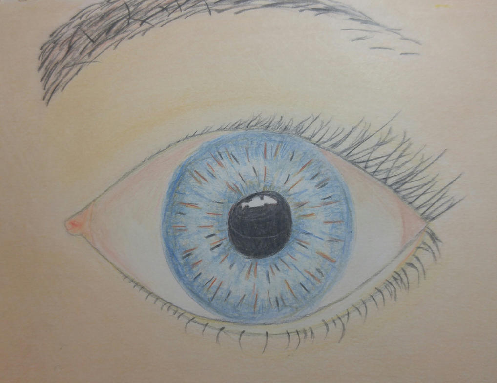 Eye As A Christmas Gift For My Mom By Graceannedraws On