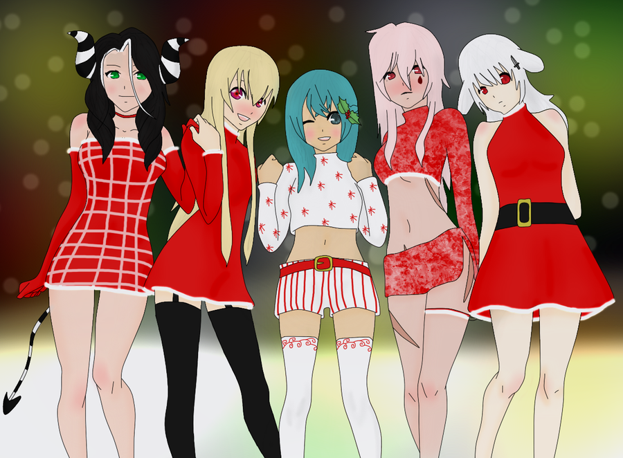 Merry Christmas :. by Never-Forget-Me-Not on DeviantArt