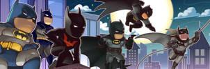 Bat Squad Scribbles