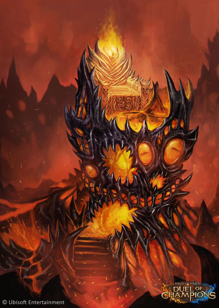 Throne of Ahribban by bonify