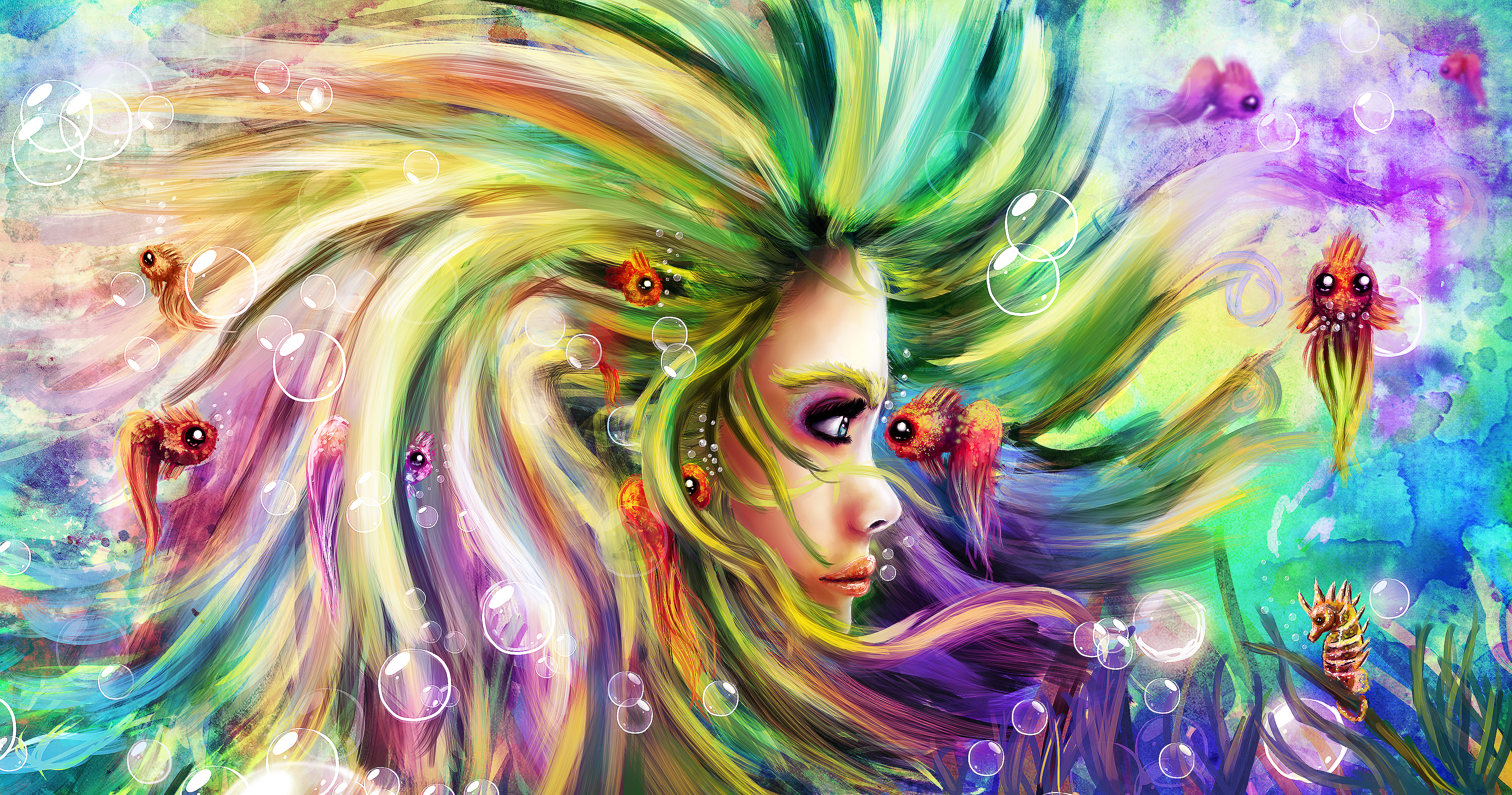 colorful dream by lizzdizz colorful dream by lizzdizz - Colorful Art