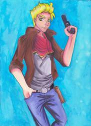 Shoot you down. by JenJentastique