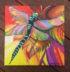 Dragonfly  by JenJentastique