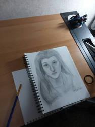Self Portrait by JenJentastique