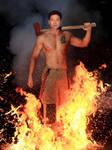 Star Trek Voyager - Firefighter Harry Kim 1 by Torri012