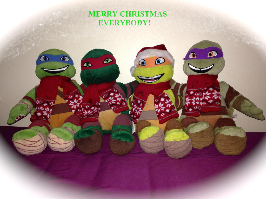 Merry christmas from tmnt by izzaheleinasai on deviantart merry christmas from tmnt by izzaheleinasai sciox Image collections