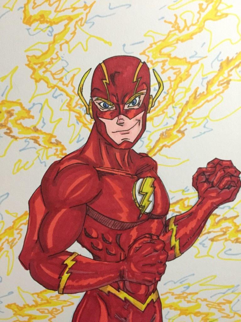 The Flash by MattyMo