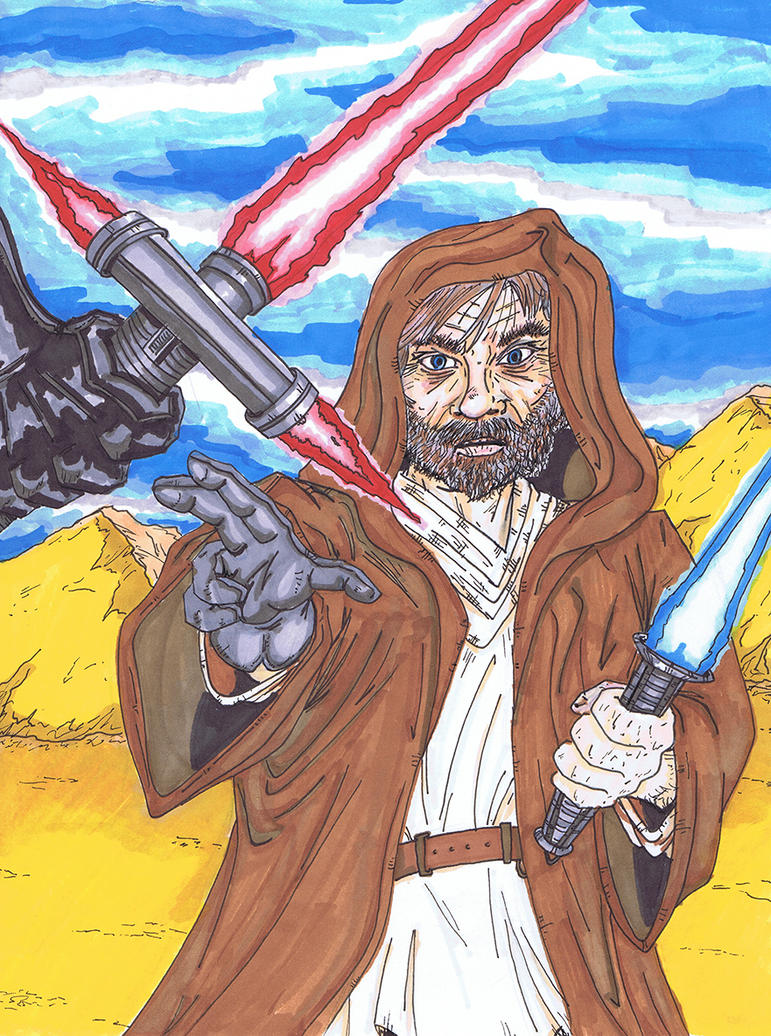 Episode VII Luke Skywalker by MattyMo